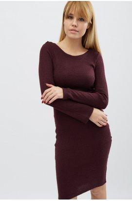 Платье Carica KP-5874-16 - Цвет Марсала