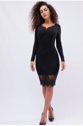 Платье Carica KP-10128-8 - Цвет Черный
