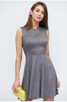 Платье Carica KP-10137-4 - Цвет Серый