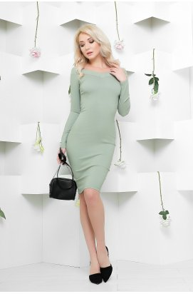 Платье Carica KP-5873-31 - Цвет Нефрит