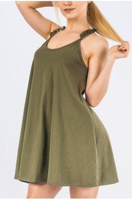 Платье Carica KP-10147-1 - Цвет Хаки