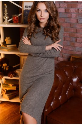 Платье Carica DP-5821-4 - Цвет Серый