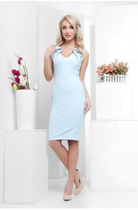Платье Carica KP-5880-11 - Цвет Голубой