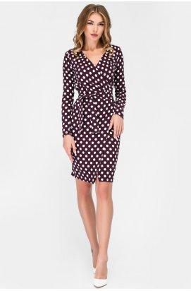 Платье Carica КР-10176-19 - Цвет Слива