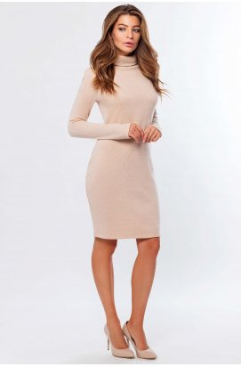 Платье Carica KP-10197-25 - Цвет Пудра