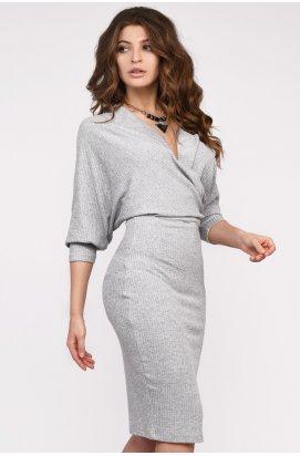 Платье Carica KP-10227-20 - Цвет Сильвер