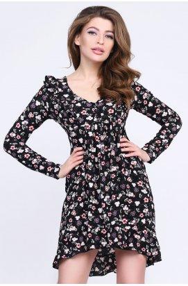 Платье Carica KP-10235-8 - Цвет Черный