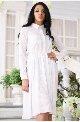 Платье Carica KP-10246-3 - Цвет Белый