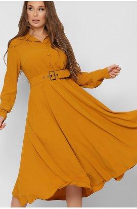 Платье Carica KP-10318-6 - Цвет Горчица