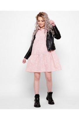 Платье Carica KP-10360-15 - Цвет Розовый
