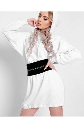Платье Carica KP-10361-3 - Цвет Белый