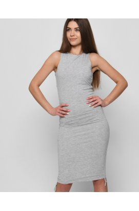 Платье Carica KP-10366-4 - Цвет Серый