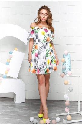 Платье Carica KP-10010-3 - Цвет Белый