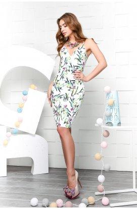 Платье Carica KP-10041-3 - Цвет Белый