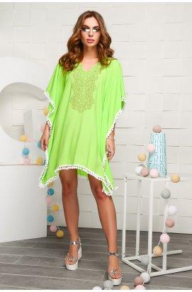 Платье Carica KP-10020-12 - Цвет Салатовый