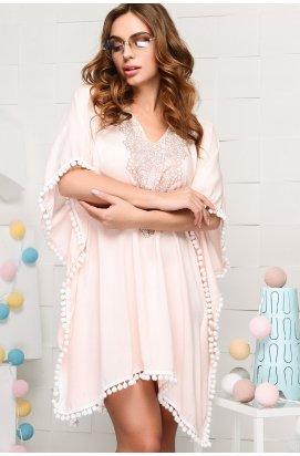 Платье Carica KP-10020-10 - Цвет Персиковый