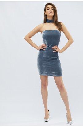 Платье Carica KP-5850-4 - Цвет Серый