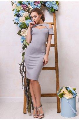 Платье Carica KP-5888-4 - Цвет Серый