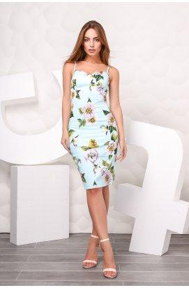 Платье Carica KP-5921-11 - Цвет Голубой