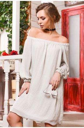 Платье Carica KP-10004-4 - Цвет Серый