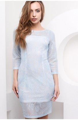 Платье Carica KP-5867-11 - Цвет Голубой