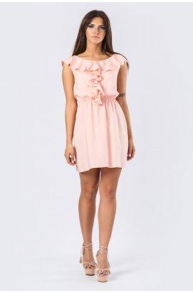 Платье Carica КР-10169-27 - Цвет Персик