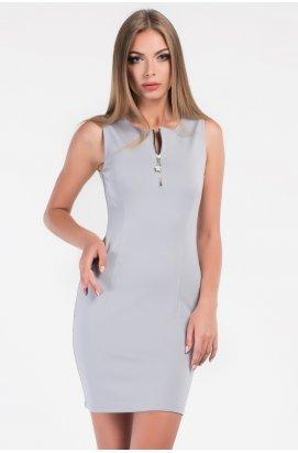 Платье Carica КР-10175-4 - Цвет Серый