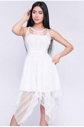 Платье Carica KP-10258-3 - Цвет Белый