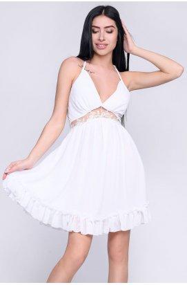 Платье Carica KP-10261-3 - Цвет Молоко