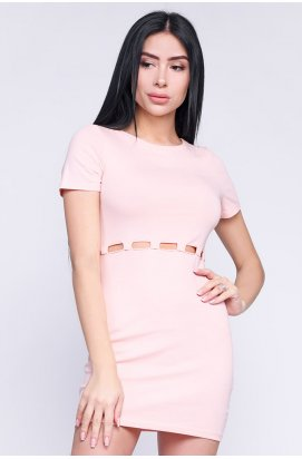 Платье Carica KP-10241-27 - Цвет Персик