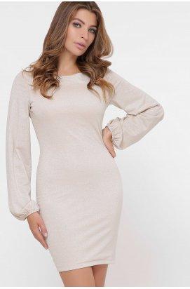 Платье Carica KP-10281-10 - Цвет Бежевый