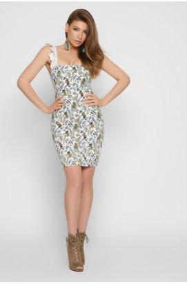 Платье Carica KP-10325-3 - Цвет Молоко