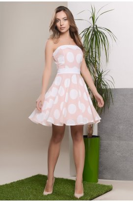 Платье Carica KP-5451-27 - Цвет Персик