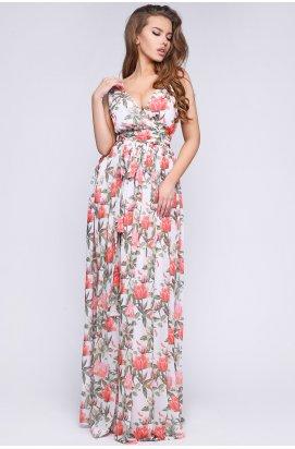 Платье Carica KP-10253-14 - Цвет Коралл