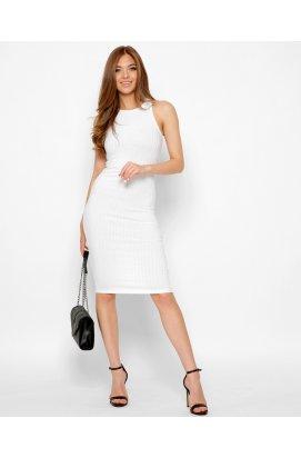 Платье Carica KP-10374-3 - Цвет Белый