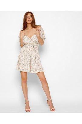 Платье Carica KP-10370-10 - Цвет Бежевый