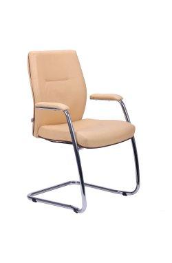Кресло Элеганс CF хром Неаполь-01, кант Неаполь-32 - AMF - 023020