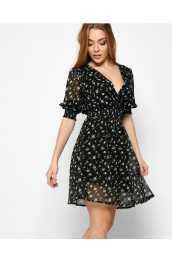 Платье Carica KP-6646-8 - Цвет Черный