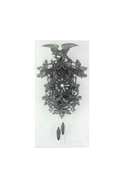 """Часы настенные """"Cuckoo"""" 38х19 см - wws-4179"""