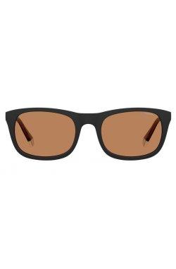Солнцезащитные очки женские Polaroid PLD2104/S/X-8LZ-HE - квадратные;прямоугольные, Цвет линз - оранжевый