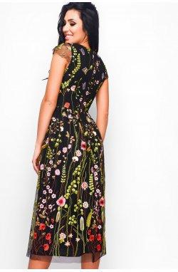 Платье Carica KP-10107-8 - Цвет Черный