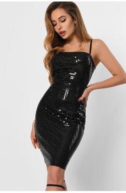 Платье Carica KP-10304-8 - Цвет Черный