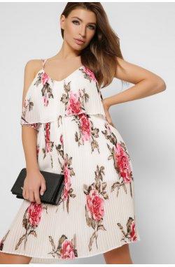 Платье Carica KP-10249-3 - Цвет Белый