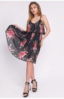 Платье Carica KP-10249-8 - Цвет Черный