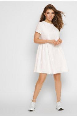 Платье Carica KP-10332-3 - Цвет Молоко