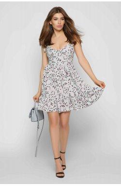 Платье Carica KP-10340-4 - Цвет Серый