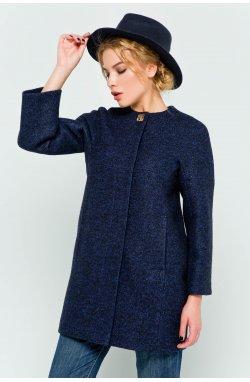 Пальто женское Ирэн темно-синий
