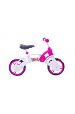 "Велосипед Беговел 10"" SMALL RIDER Pl (бело-розовый)"