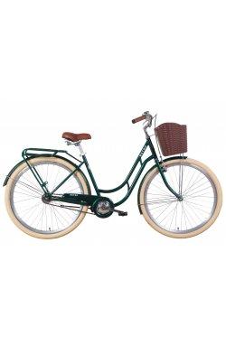 """Велосипед Велосипед 28"""" Dorozhnik RETRO 2021 (зеленый)"""
