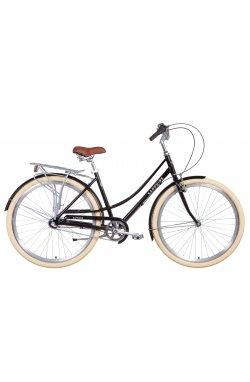 """Велосипед Велосипед 28"""" Dorozhnik SAPPHIRE планет. 2021 (черный)"""